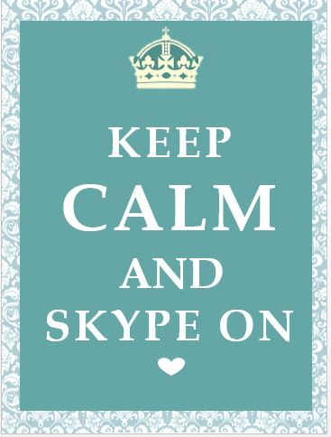 Keep Calm & Skype On